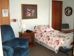 Little Hospice's comfortable, private bedrooms